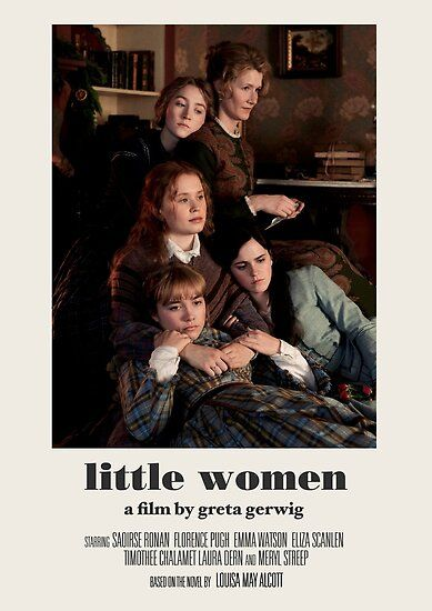 Little Women Poster by charlottewood