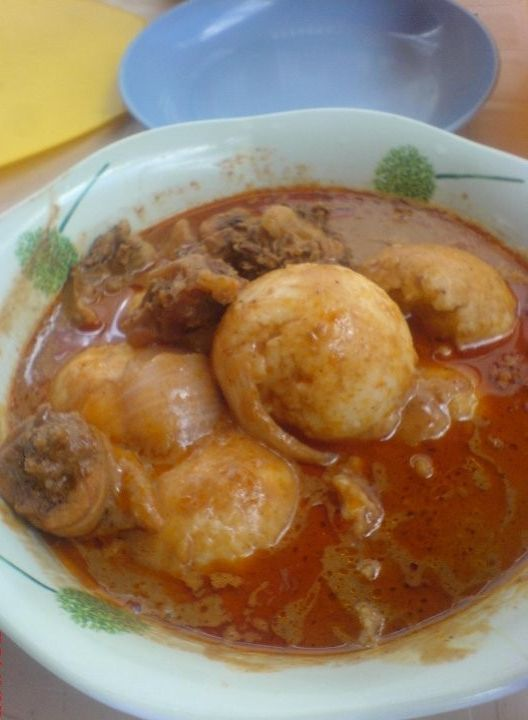 How To Prepare Rice Balls And Groundnut Soup