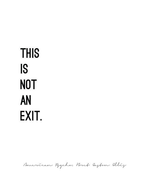AMERICAN PSYCHO // Bret Easton Ellis // by LuminousParticular