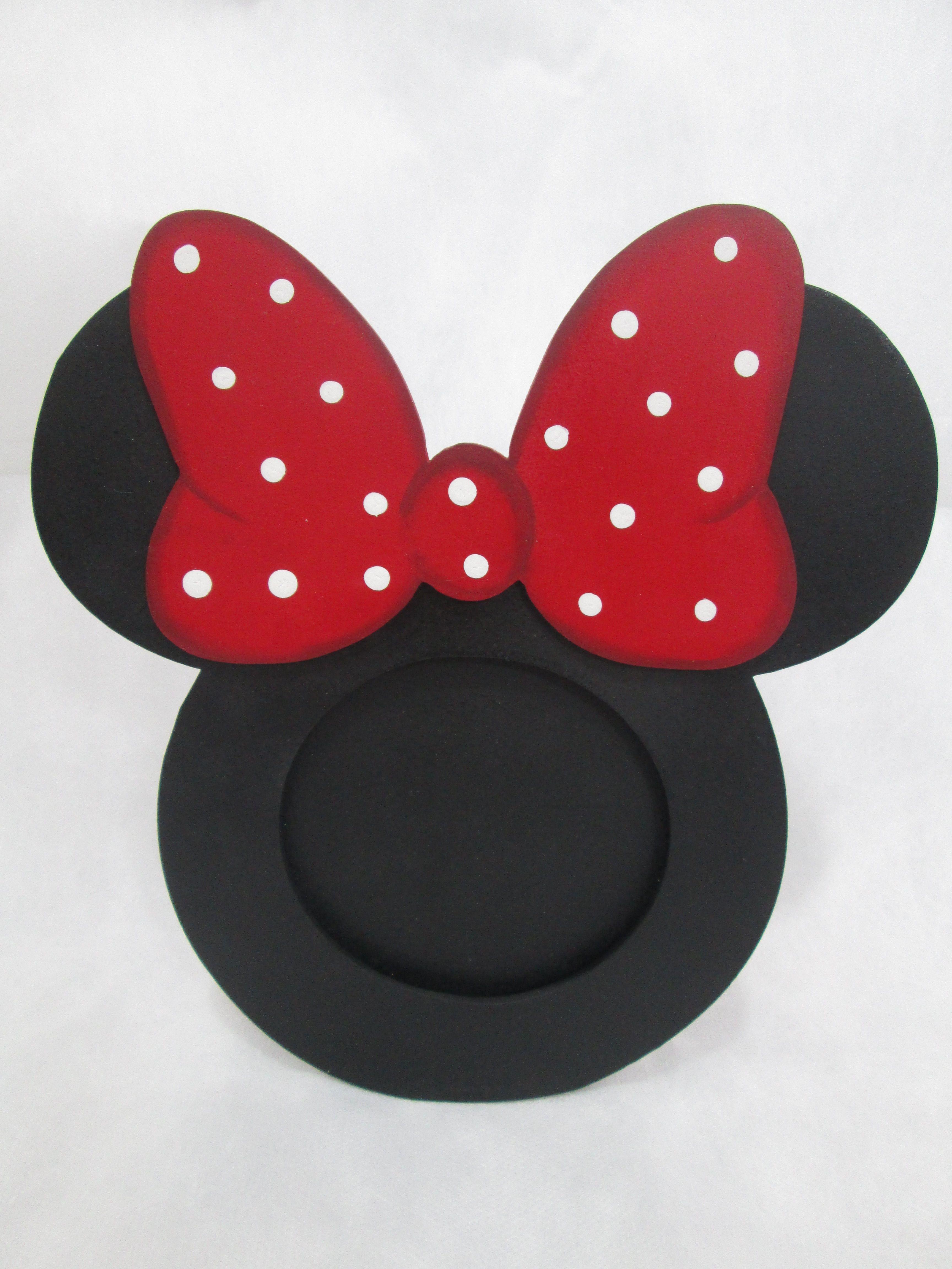 minnie mouse en goma eva - Buscar con Google   Portaretratos ...