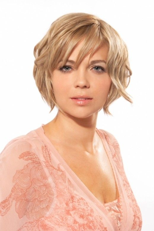 Awesome Round Face Short Hairstyles 2012 Yusrablog Com Short Hair Styles For Round Faces Round Face Haircuts Thick Hair Styles