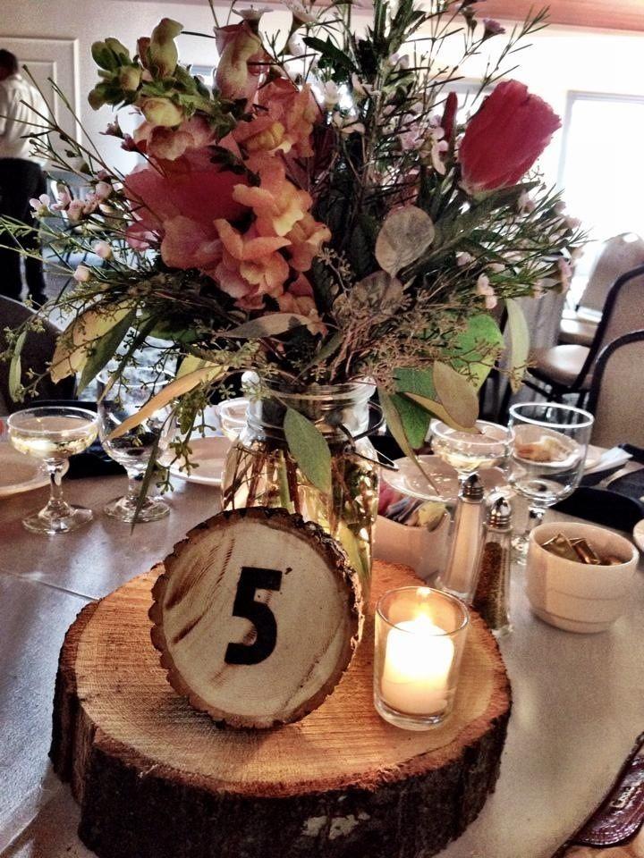 Sunflower Wedding Table Decor