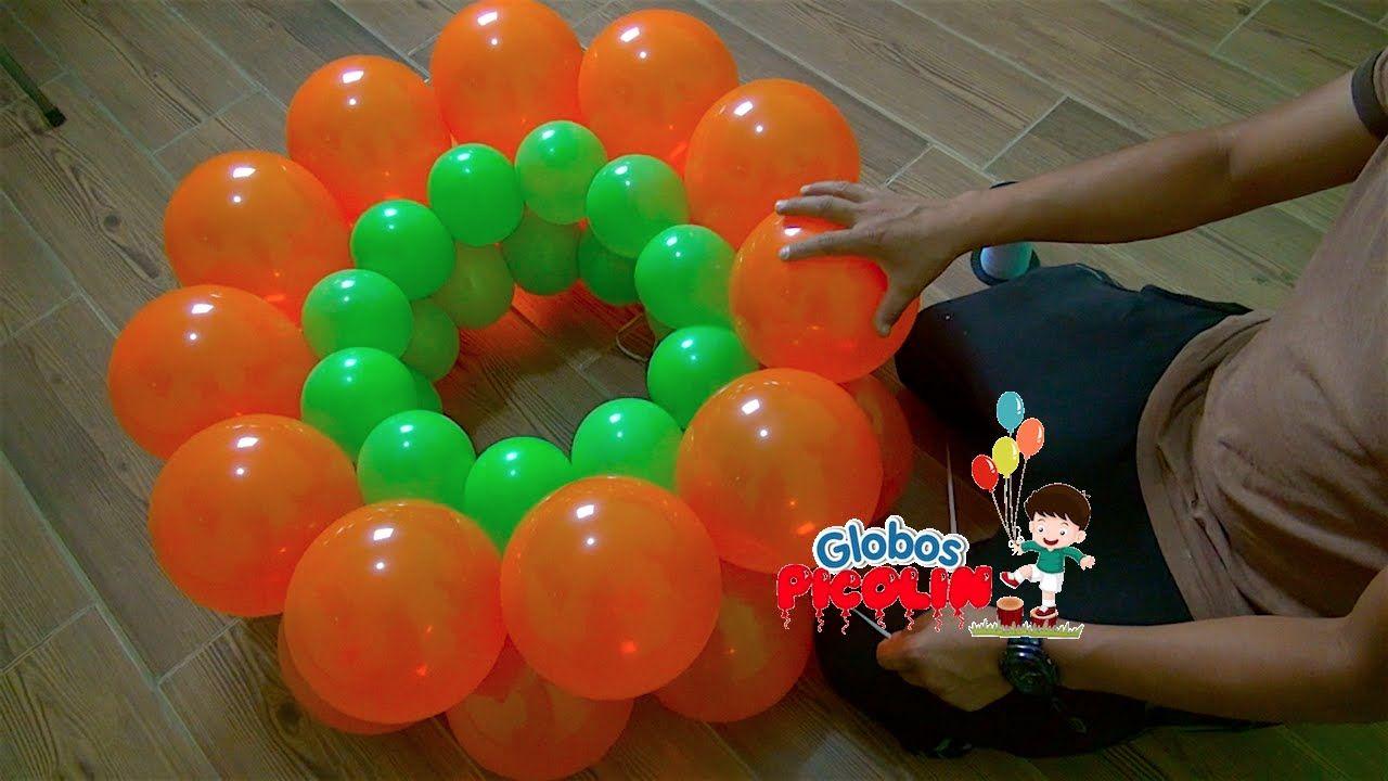 Como Hacer Guirnalda Alternada Con Globos 2 Medidas 37 Balloon Decorations Balloon Arch Decorations Balloon Diy