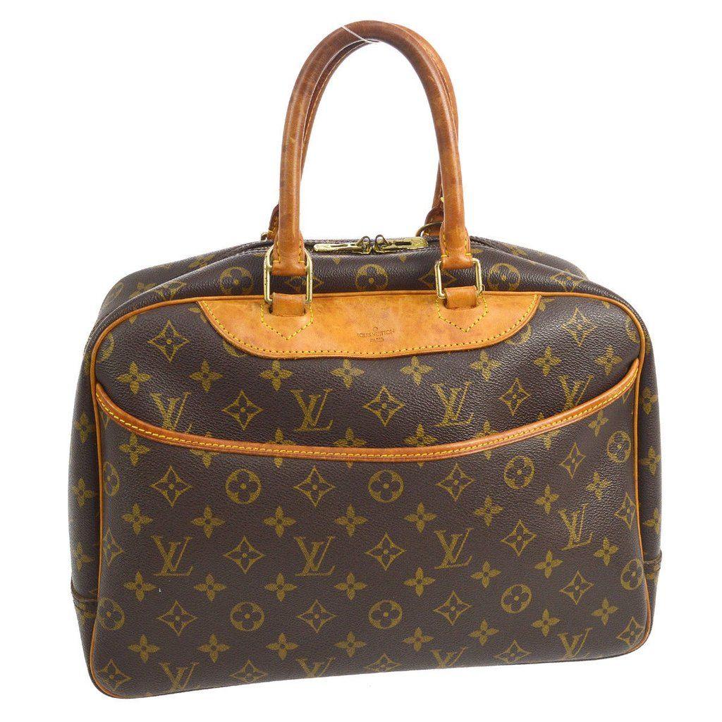Louis Vuitton Deauville Business Hand Bag Louis Vuitton Handbags
