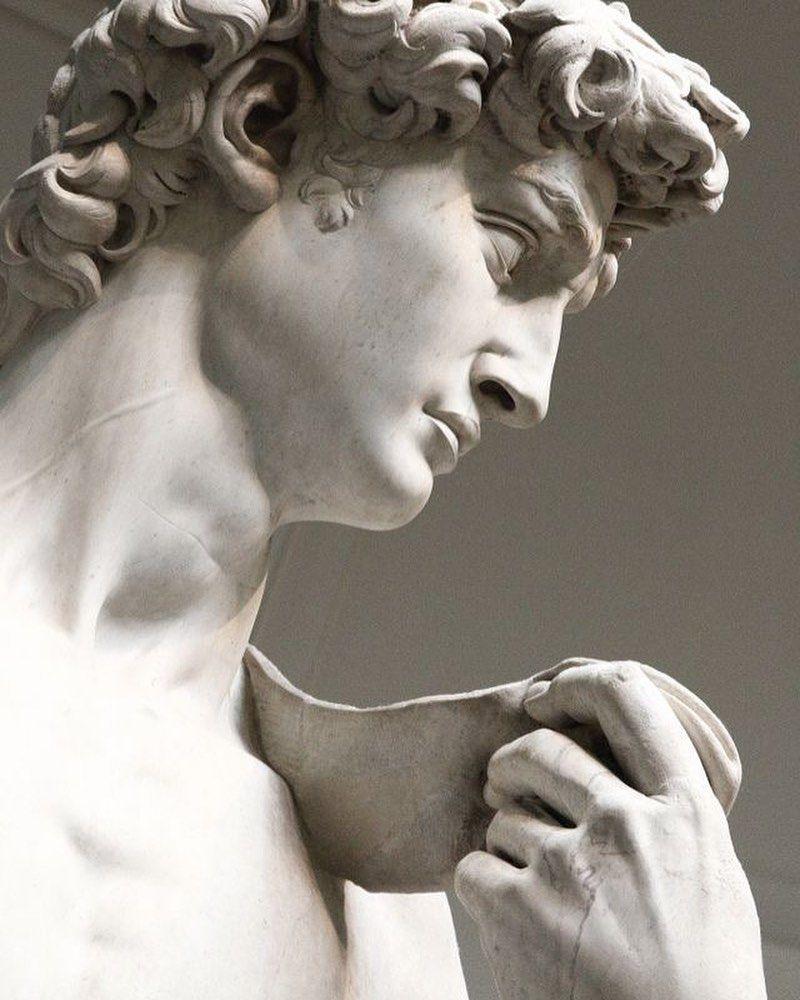 "La Vie En Rose Artinya : artinya, Likes,, Comments, (@lavienrose.__), Instagram:, ""David"", Sculpture, Aesthetic, Roman"