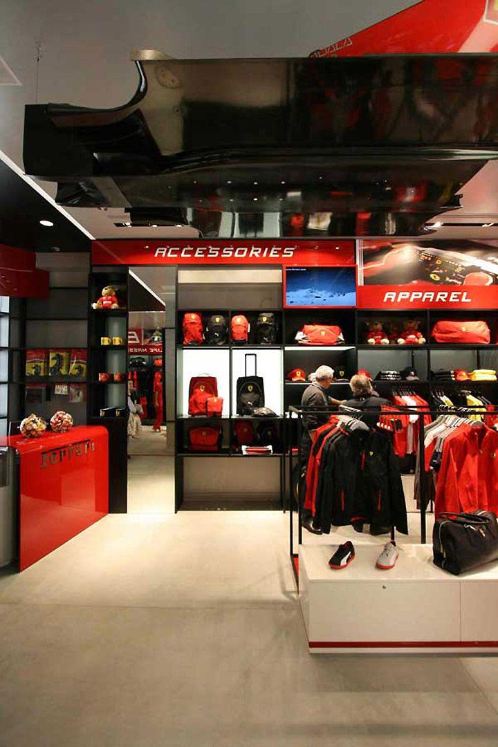 Attractive Ferrari Store By Iosa Ghini Associates Madrid 04 Good Looking
