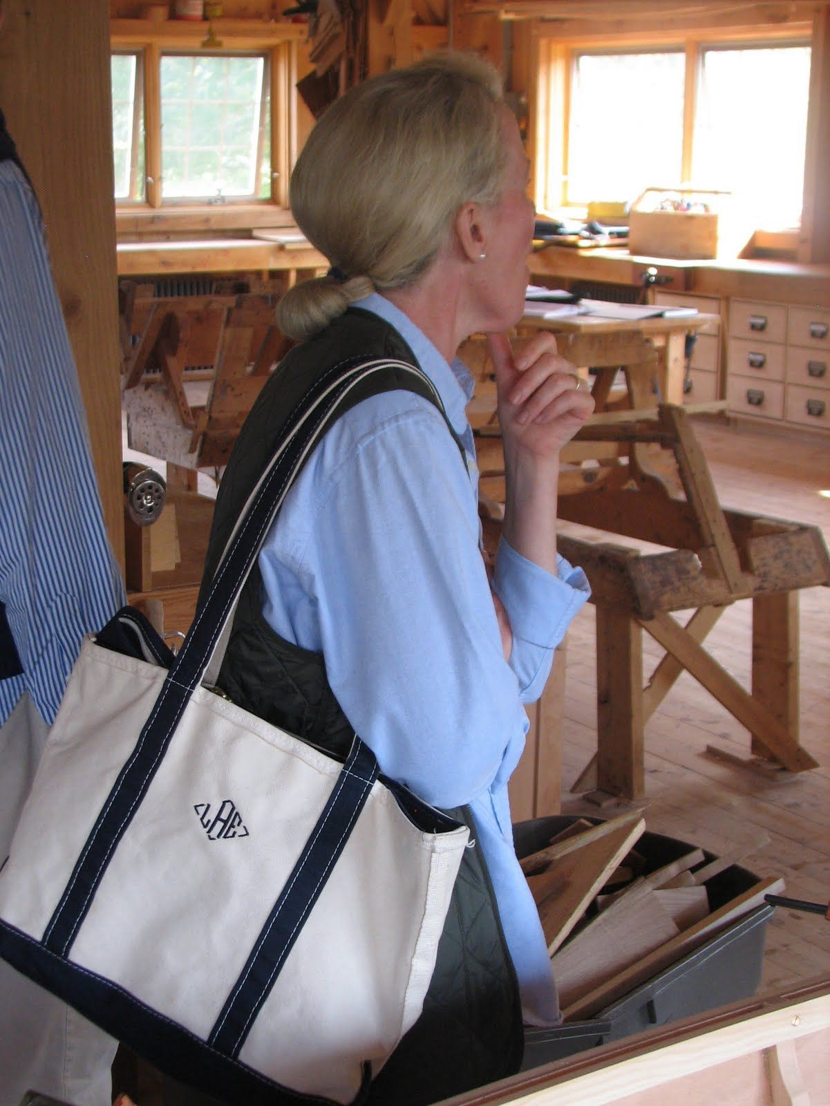 LL Bean classic canvas boat and tote. Made in America since 1945 ...