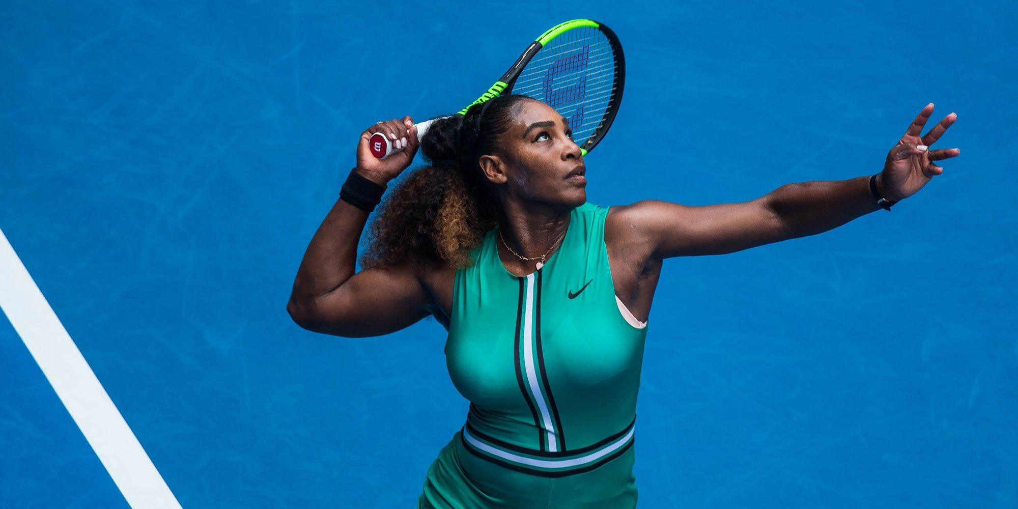 0375b0975d1b Serena Williams Just Wore Another Epic Catsuit at the Australian Open