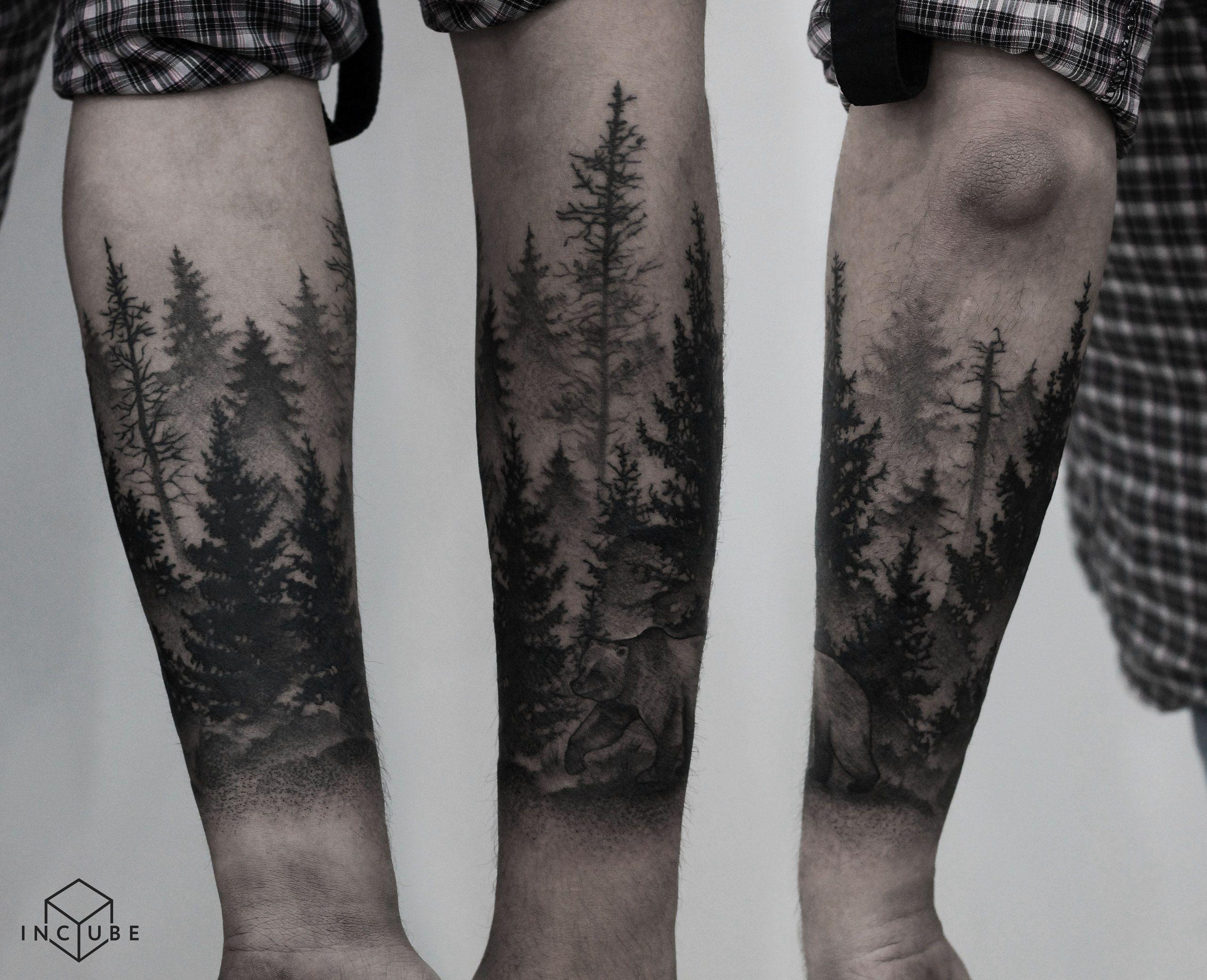 Foto Tatu Nastya Polynesiantattoos Tatuajes Vikingos Tatuajes
