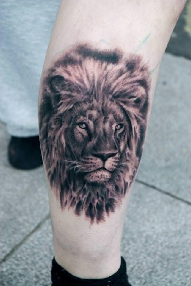 Animal Sleeve Lion Tiger Bear Elephant Black And White Lion Tattoo Sleeves Sleeve Tattoos Animal Sleeve Tattoo