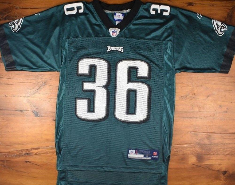 c90c7d8c Vintage Reebok Brian Westbrook NFL Philadelphia Eagles Jersey Mens S ...