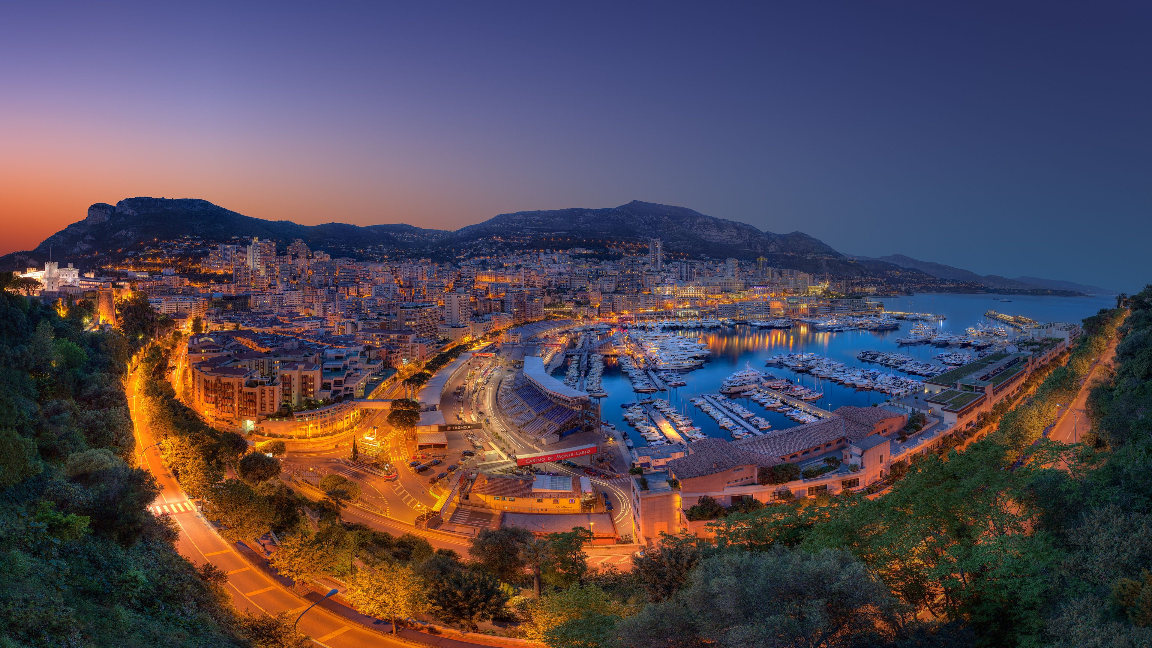 4K Wallpaper Monaco, Ipad air wallpaper, Iconic landmarks