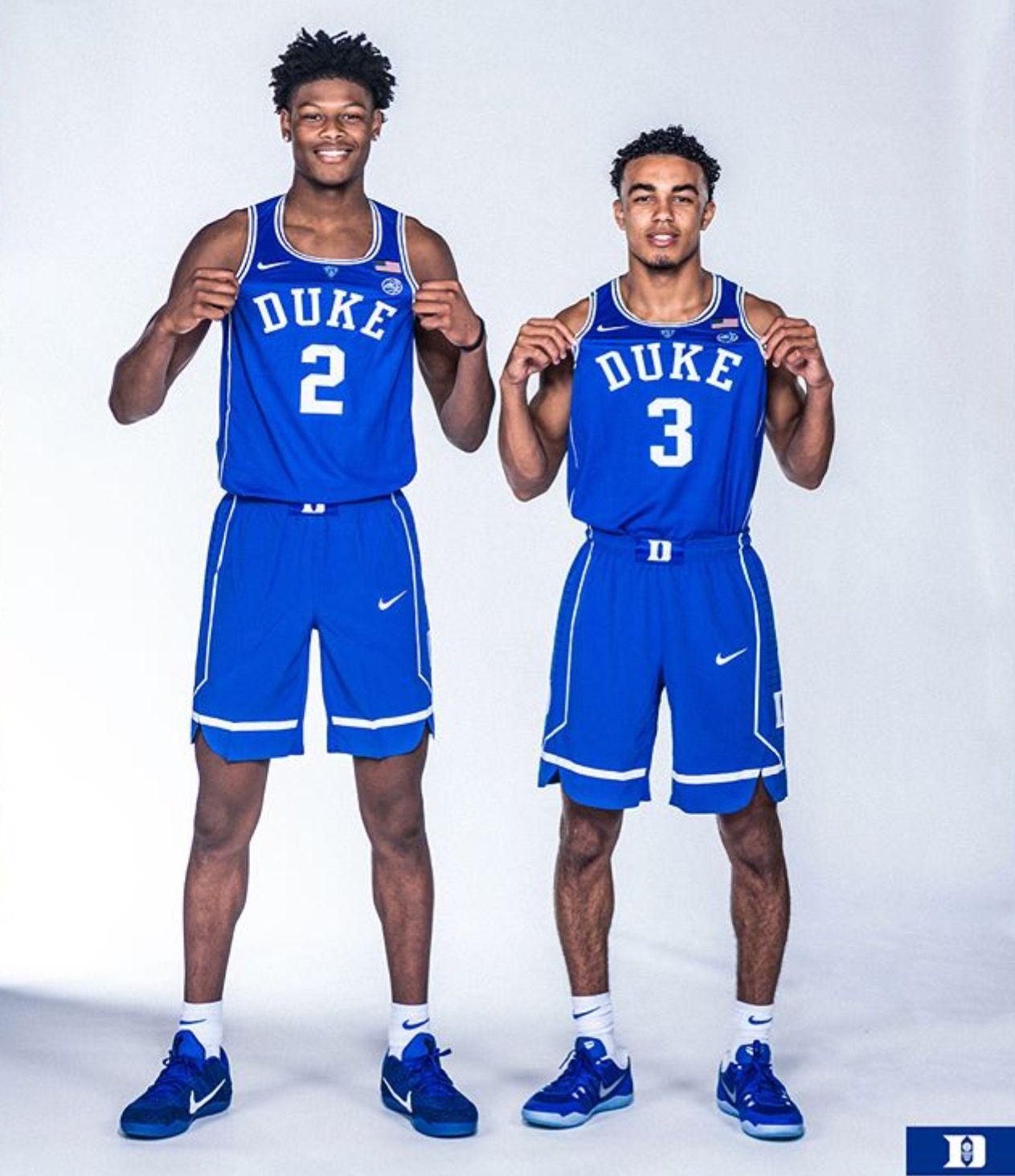 Cam Reddish and Tre Jones Duke blue devils basketball
