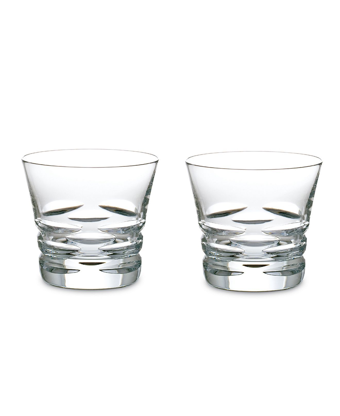 Baccarat Drinkware Set Of 2 Lola Double Old Fashioned Glasses Stemware Cocktail Dining Entertaining Macy S Glasses Fashion Baccarat Drinkware