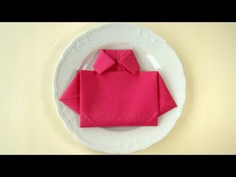 pliage de serviette en papier le cygne plier une serviette facile et rapide youtube mama. Black Bedroom Furniture Sets. Home Design Ideas