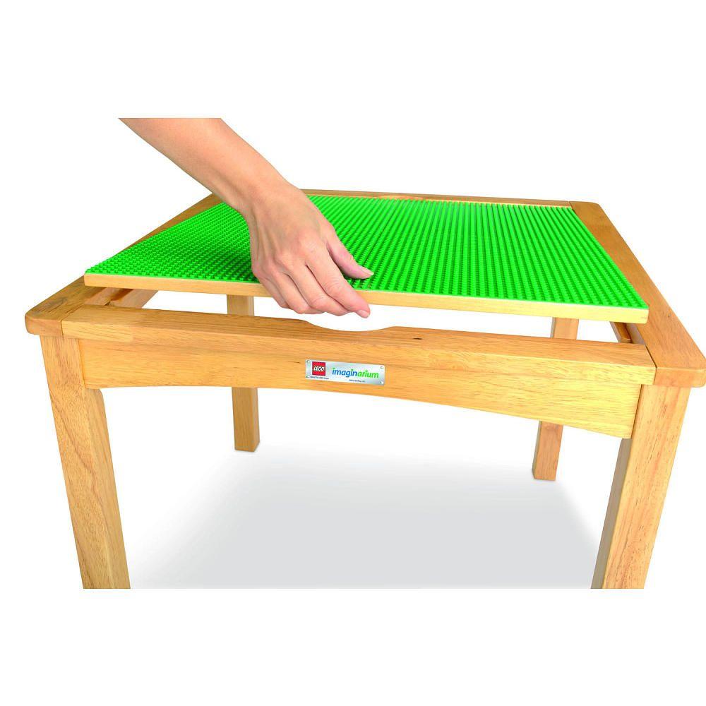 Imaginarium Lego Activity Table With 2 Storage Ottomans