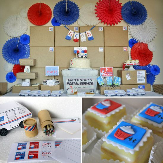 office theme ideas. A First-Class Post Office Party! Theme Ideas