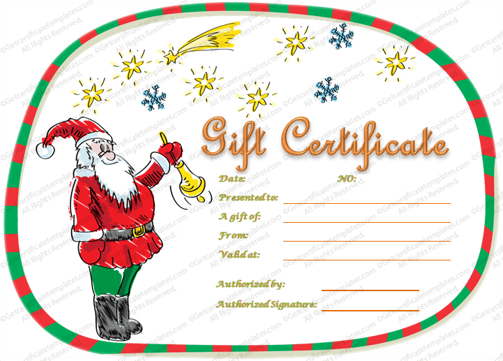 Gift certificate template beautiful printable gift certificate christmas gift card template 5 awesome christmas gift certificate templates to end printable christmas gift certificate template christmas gift certificate yelopaper Images