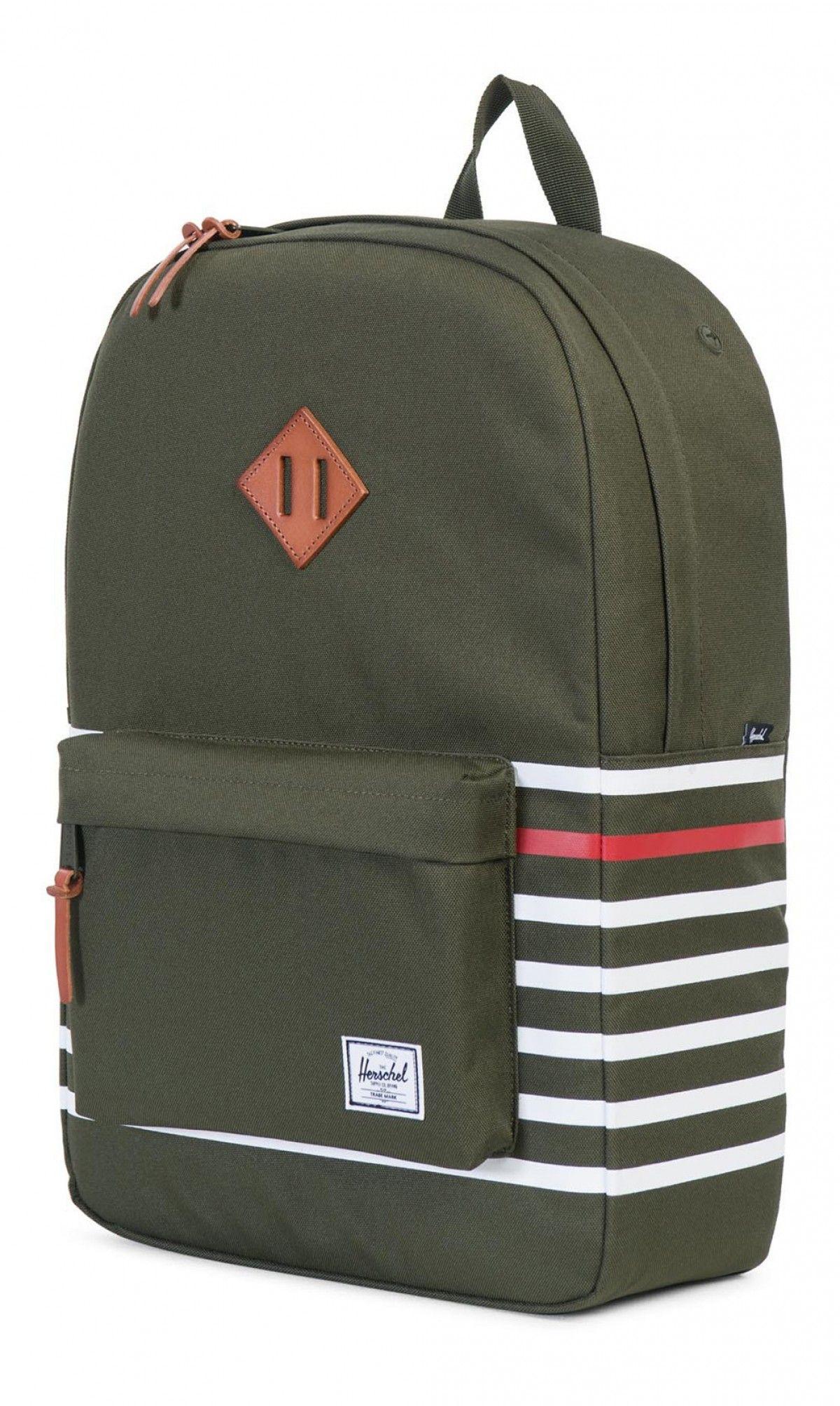 8786383b5035 Herschel Heritage Backpack Poly Offset Forest 10007-01236-OS ...