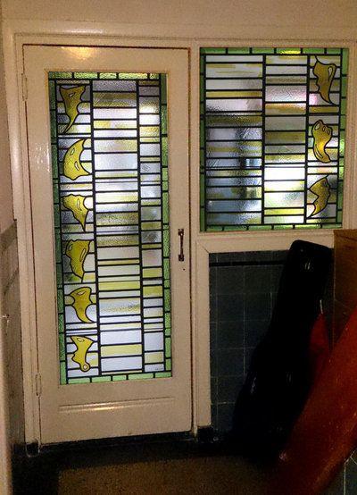 décembre 2015 Une porte d\u0027entrée Contemporary Stained Glass