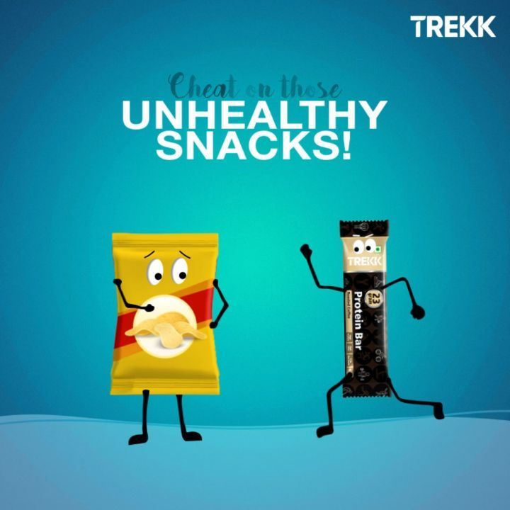 With Trekk Bars, you can cheat on your unhealthy snacks. Stay fit and buy your protein-filled happin...