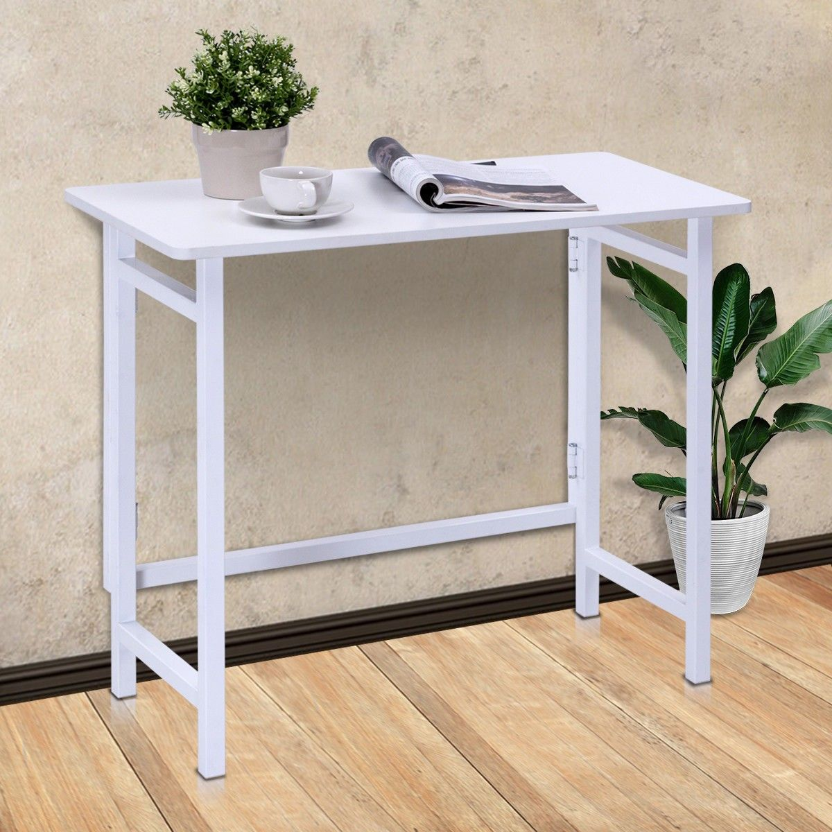 Office folding tables home office folding writing computer desk  furniture  pinterest