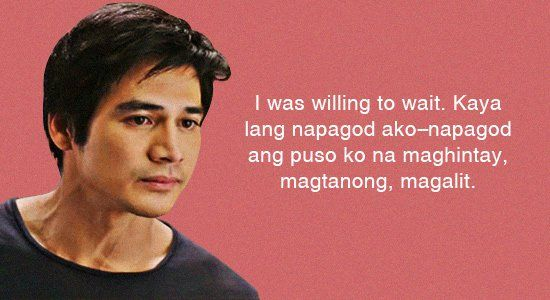 Kd Quotes Wallpaper 10 Hugot Lines From Pinoy Movies Entertainment Movies
