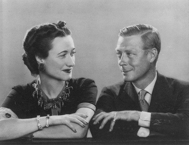 Картинки по запросу Wallis Simpson e il re Edoardo VIII