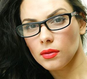 designer eyeglass frames cateye for women rectangular black frame - Womens Designer Eyeglass Frames