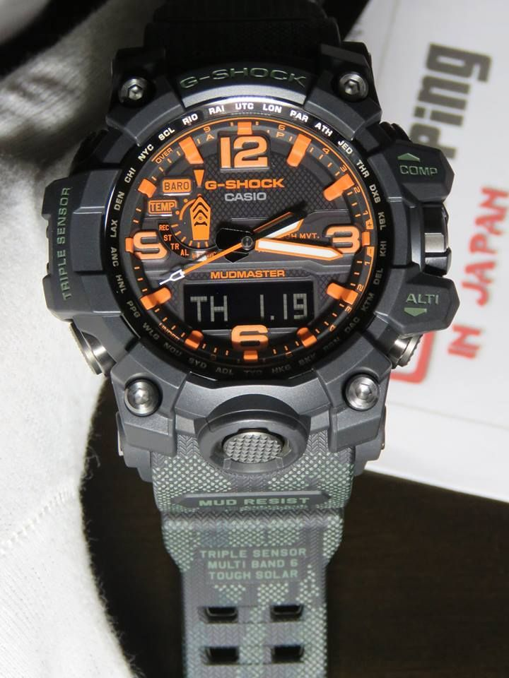 "437536aa6f8 Maharishi x G-Shock Mudmaster GWG-1000MH-1A that features a fully  customized ""British Bonsai Forest"" design"
