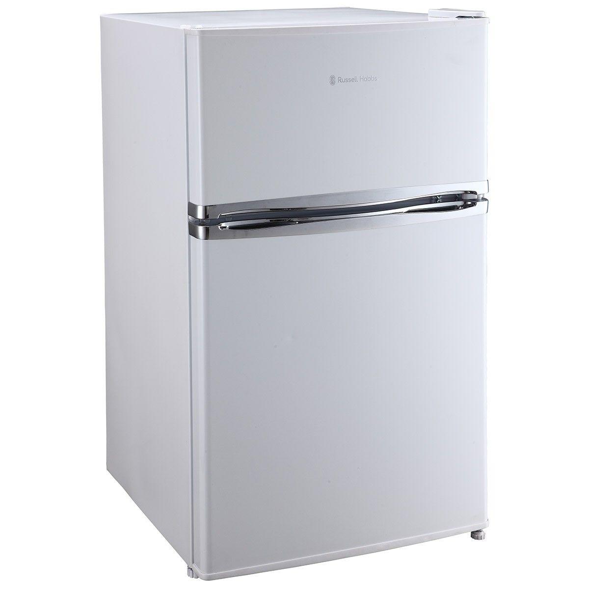 Russell Hobbs Free Standing Under-counter Fridge Freezer White   New ...