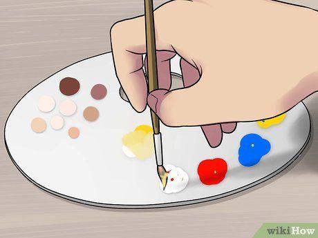 crear tonos de piel realistas   Peinture