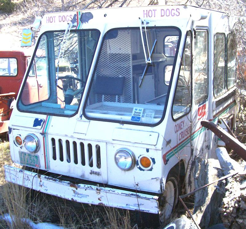 Old Postal Jeeps For Sale: 1966 Jeep FJ-6 Fleetvan Concession Wagon For Sale