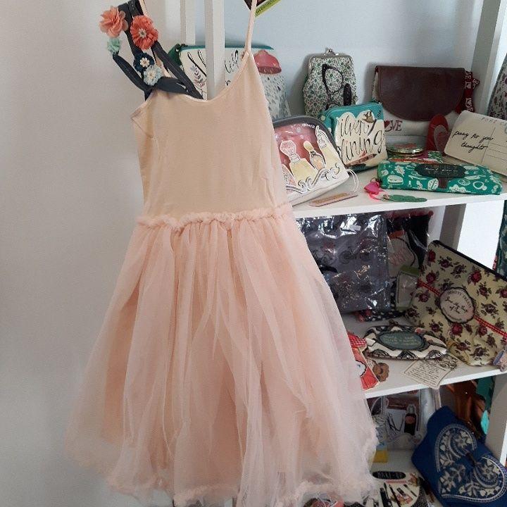 Maileg  tule jurk poeder roze 4-6 jaar