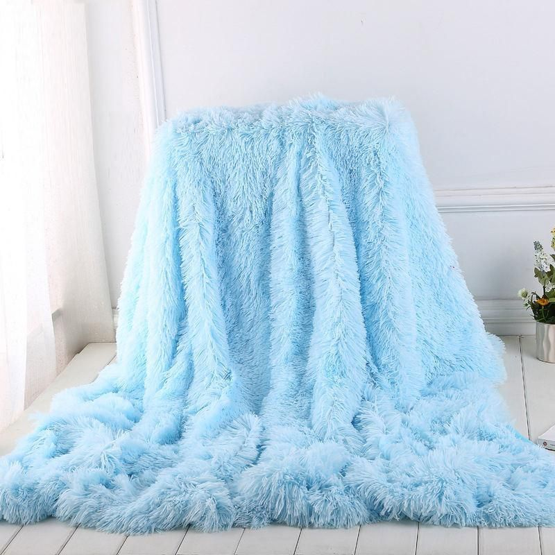 Super Soft And Comfortable Blanket Warm Blankets Online Is Hot Selling Varied Style Of Blue Gray Throw B Blue Throw Blanket Fluffy Blankets Light Blue Blanket