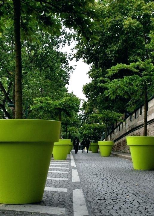 Huge Flower Pots Large Tree Pots Huge Tree Planters That Look Like Plant Pots Fun Extra Large Plant Pots Large Tree Pots La Tree Planters Planters Street Trees