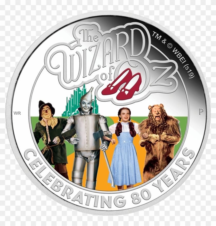 Find Hd Wizard Of Oz Hd Png Download To Search And Download More Free Transparent Png Images 80th Anniversary Wizard Of Oz Silver Coins
