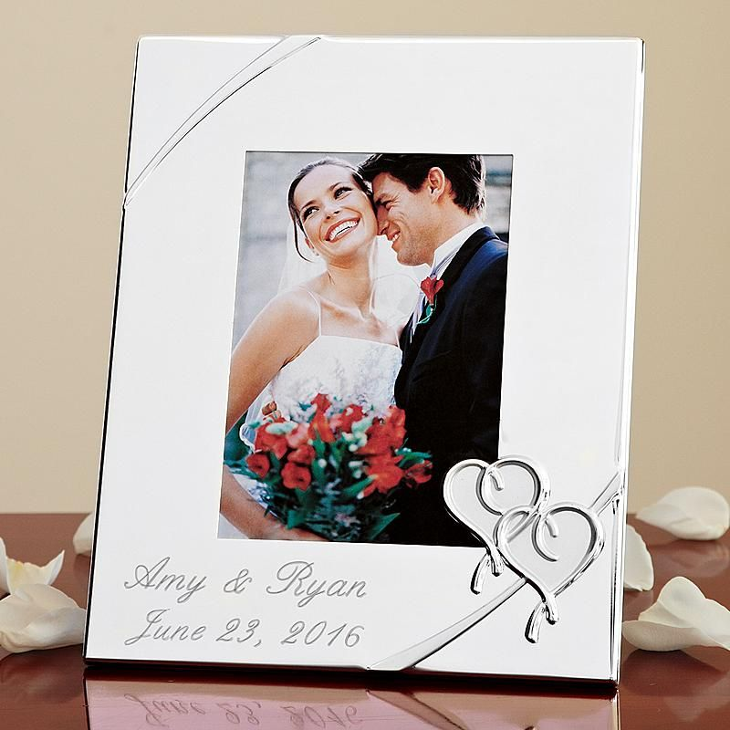 Lenox True Love 5x7 Frame Wedding Picture Frames Personalized