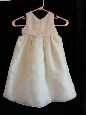 Size 3T Girls ~ Cherokee Yellow Circles Easter/Wedding Dress