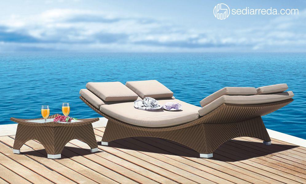 Barchetta sunbed Mobili da spiaggia, Arredamento casa