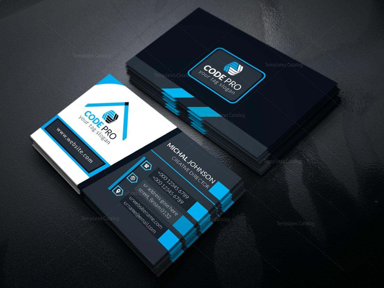 Sleek Business Card Design Template In Eps Format 5 Business Card Template Design Business Card Design Card Design