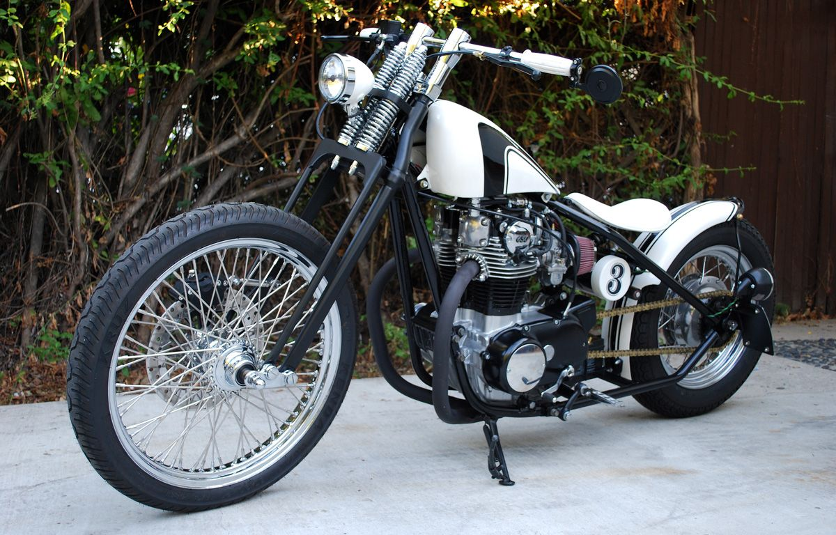 17 Best Images About Inspiration For A Kz400 Hardtail Project Bike