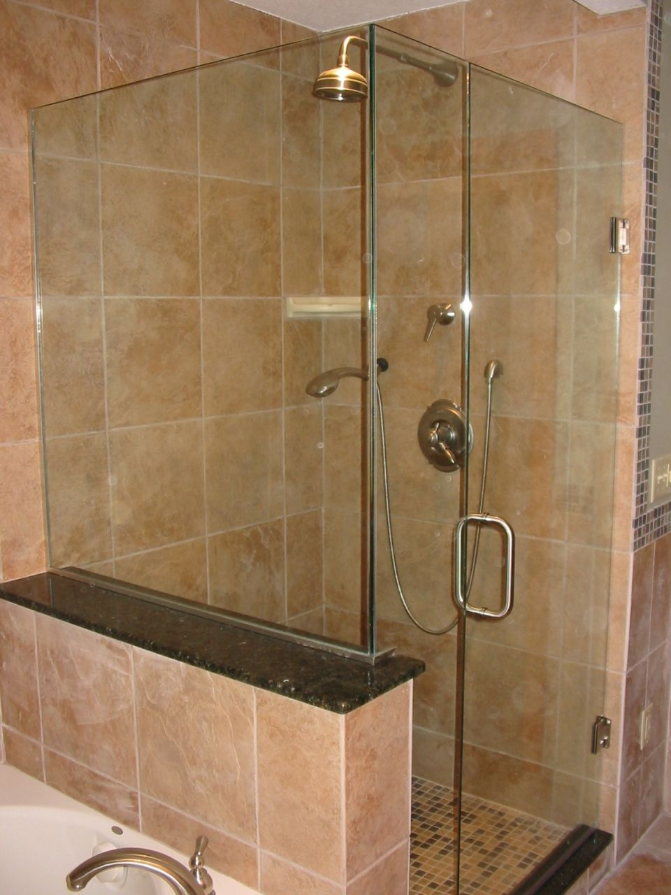 Bathroom:Shower Stalls With Doors Marble Wall Ideas For Shower Stalls  Decorating Dsigns Mosaic Floor