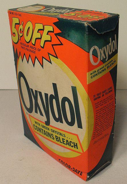 Oxydol Box 1960s Detergent Vintage Childhood Memories My