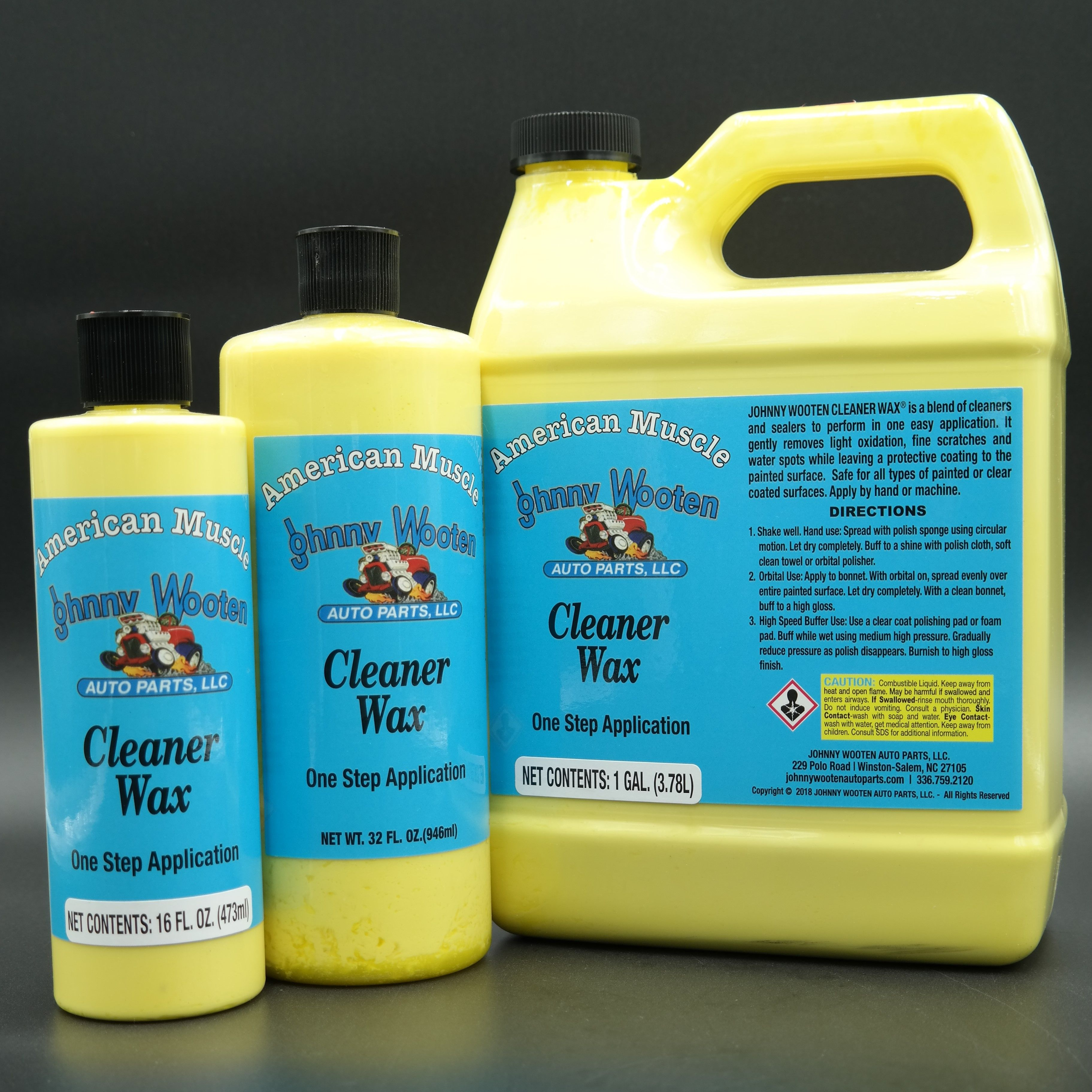 Moonshine Magic Johnny Wooten Car Care Products Degreasers Interior Trim Dressing