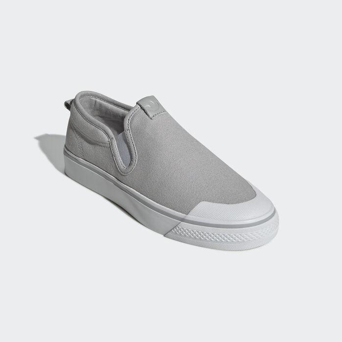 Nizza Slip on Shoes Grey Two 5.5 Womens | Black slip on