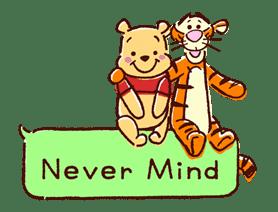 Animated Winnie the Pooh Speech Balloons sticker #14904613