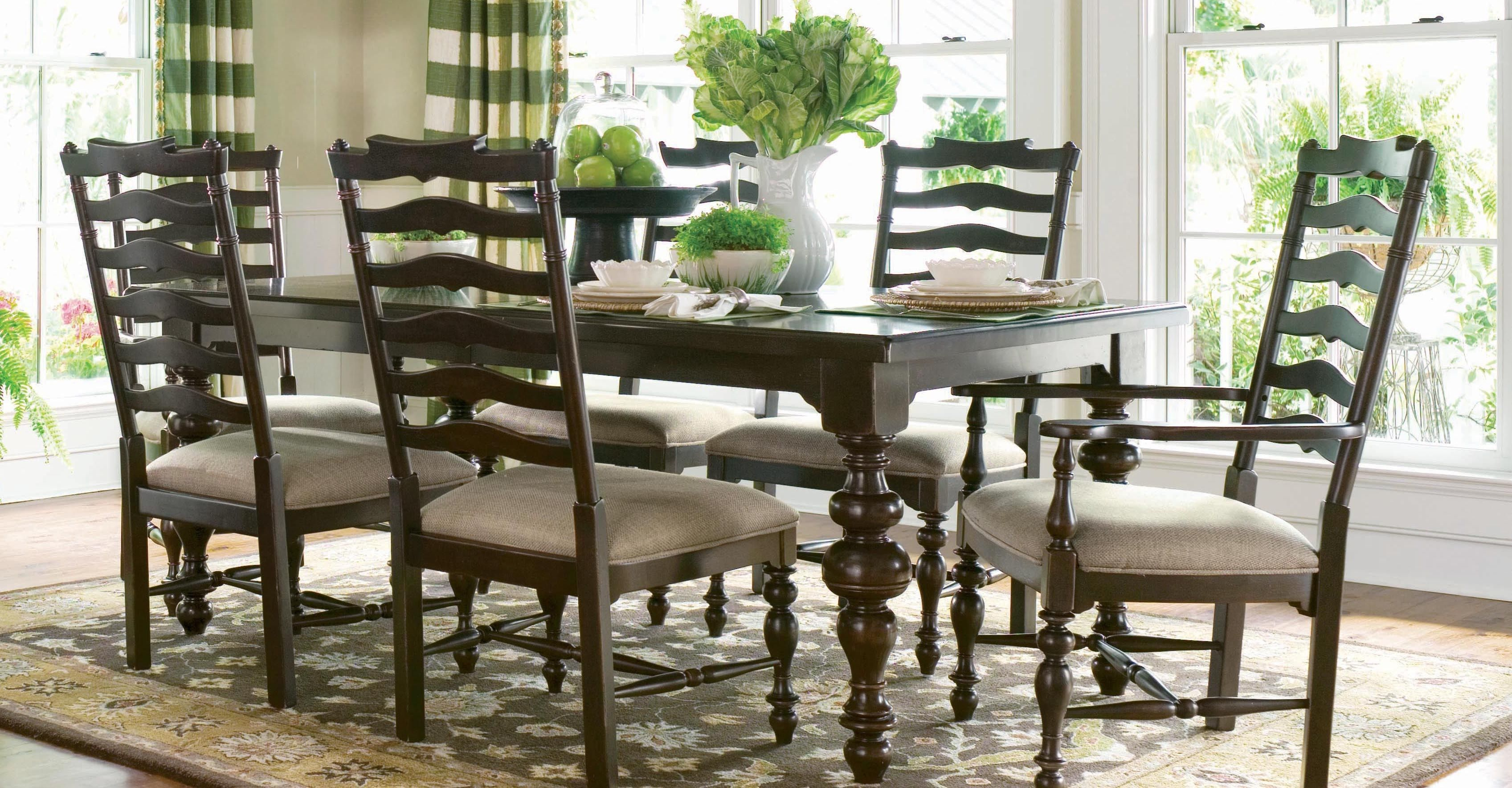 Gorgeous Dining Room Table Paula Deen Tobacco Paula S Table