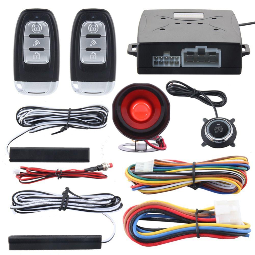 Quality Easyguard Universal Pke Car Alarm System Passive Keyless
