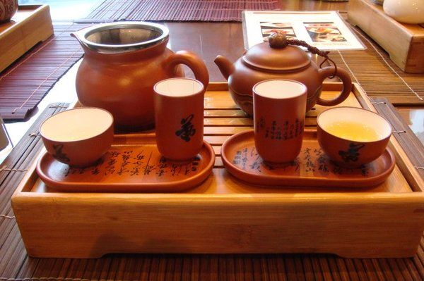 We had Golden Turtle tea served this way on a cold blustery Montreal day. Kept us feeling warm for hours.